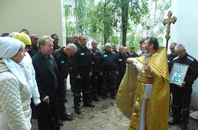 В храме ИК-6 прошла литургия