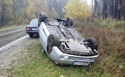 В 5 авариях пострадало 6 человек