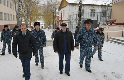 Зам.прокурора области посетил ИК-6