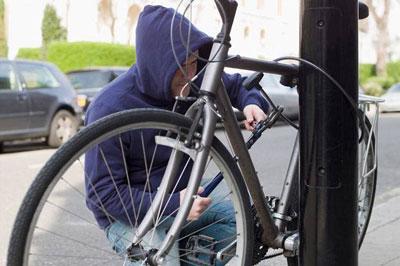 Объект кражи - велосипед