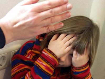От рук матери пострадал ребенок