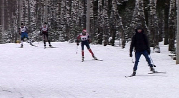 Открытие сезона для лыжников