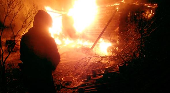 За праздники произошло 4 пожара