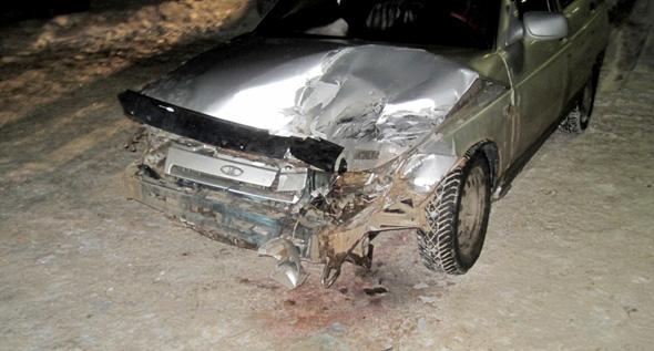 В аварию попали сразу три авто