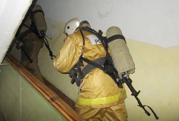 На пожаре спасли 3 человек