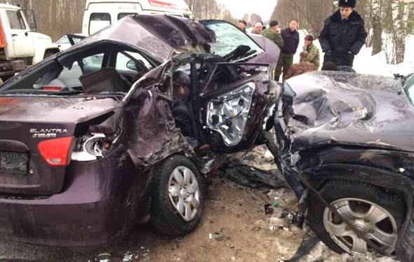 В ДТП погибли 2 человека