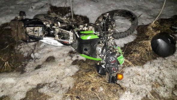 В ДТП погиб мотоциклист