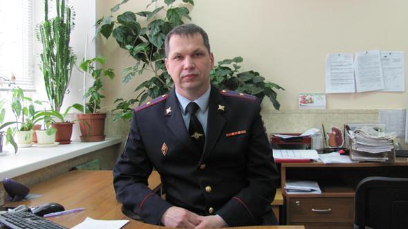 Новый начальник ОГИБДД
