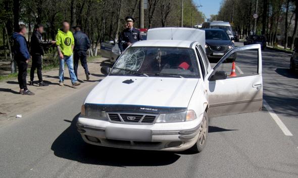 В авариях пострадали пешеходы