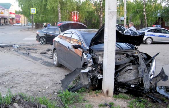 2 аварии за выходные