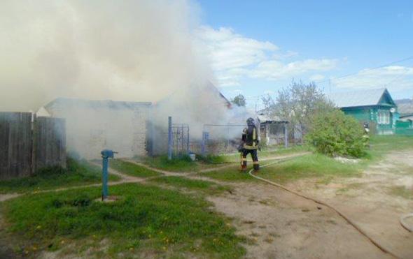 22 мая горели дом и авто