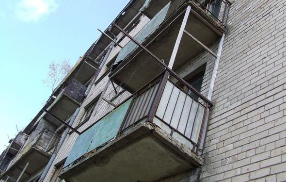 Через балкон к соседям