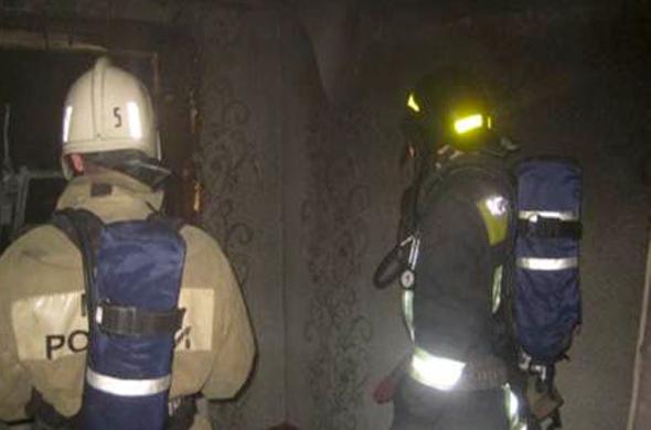 На пожаре пострадал мужчина
