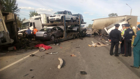 В ДТП погибли два человека