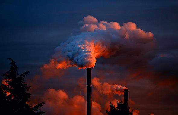 Предприятие загрязняло воздух