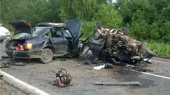 В ДТП погибли три человека
