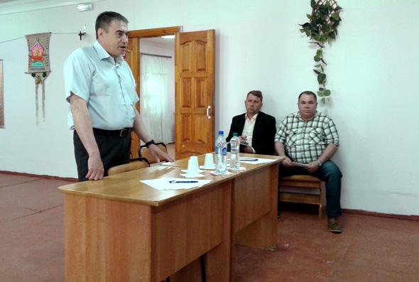 Визит Главы района в п.Пакино