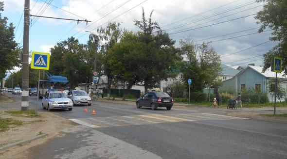 На ул.Комсомольской сбили подростка