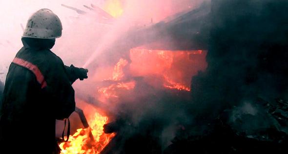 Сгорел дачный домик