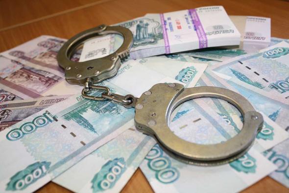 За взятку под арест