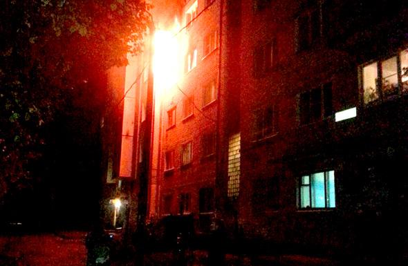 Два пожара в одном доме