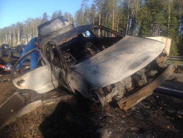 Ковровчанка сгорела в авто
