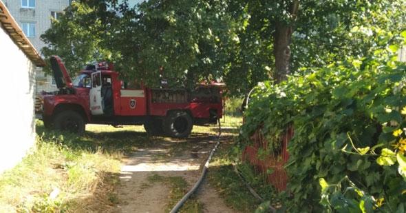 На пожаре спасли 4 человек