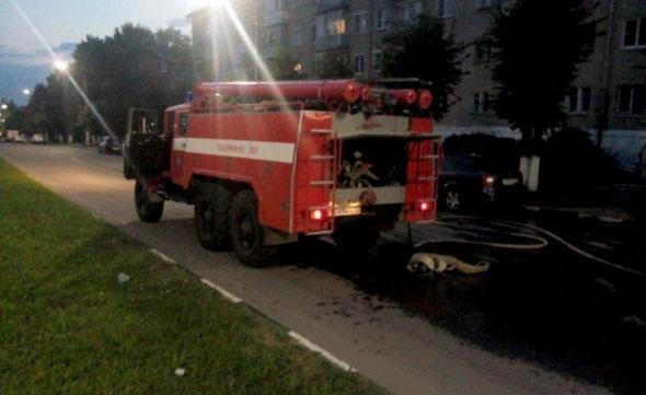 Пожар на ул.Кирова