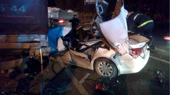 В ДТП погиб водитель такси