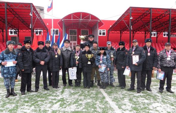 Чемпионат УМВД по срельбе