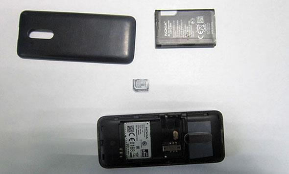 В ИК-7 изъят телефон