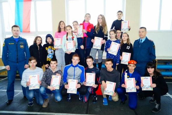 Победа юных огнеборцев Коврова