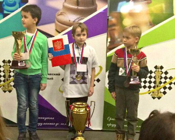 Юный шахматист покорил Москву