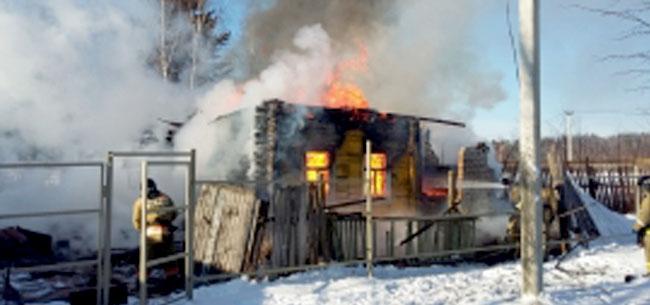 На пожарах погибли 2 человека