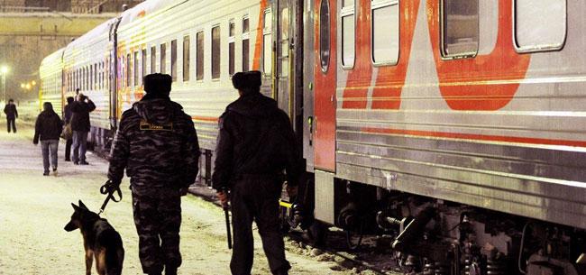Пассажира сняли с поезда
