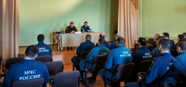 Зам.начальника ГУ МЧС области совершил рабочую поездку в Ковров и Камешково