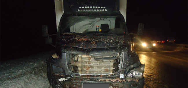 В аварии на трассе погиб водитель