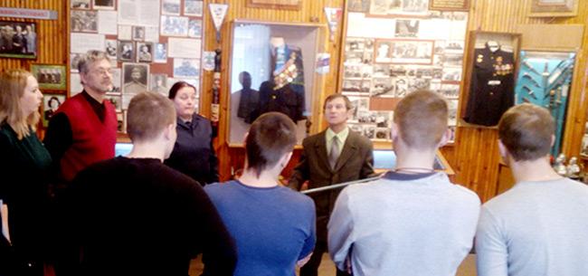 Осужденные, состоящие на учете в УИИ, побывали на экскурсии в музее ОМВД