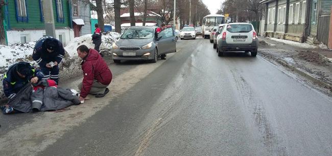 28 марта в Коврове в авариях пострадали пешеход и водитель