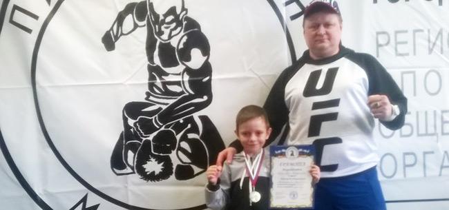 Ковровский спортсмен Владислав Назаров занял 2 место на Всероссийском детско-юношеском турнире по панкратиону