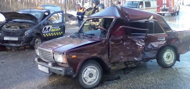 В аварии в Коврове пострадали 3 человека