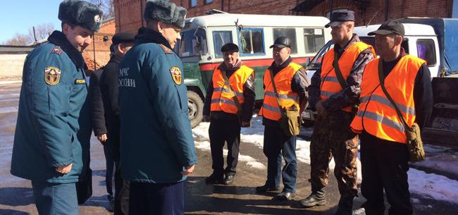 Комиссия МЧС проверила готовность ТП РСЧС Коврова к паводку