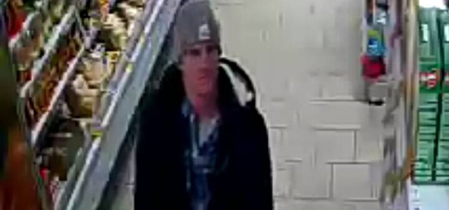 Полицейские разыскивают подозреваемого в краже продуктов в магазине