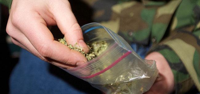У ковровчанина изъяли наркотик