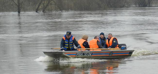 В Ковровском районе прошли тренировки по ликвидации ЧС