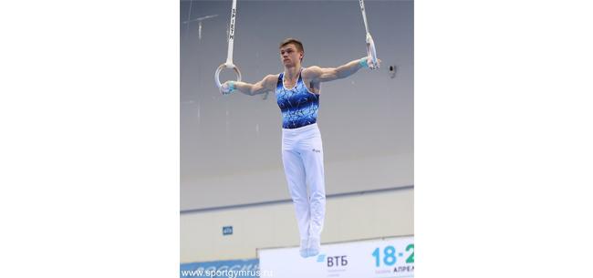 Илья Кибартас на чемпионате России