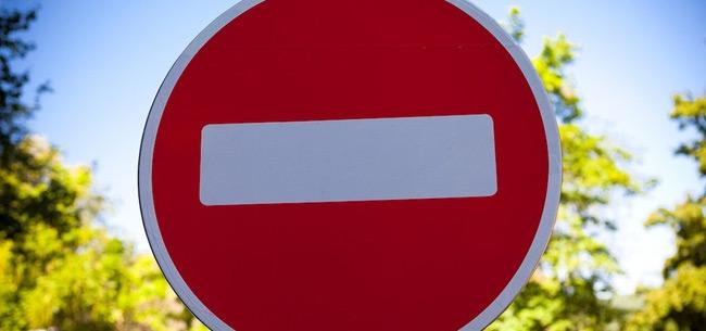 Ограничение движения транспорта на майские праздники