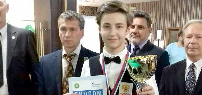 Лучший бильярдист страны живет в Коврове