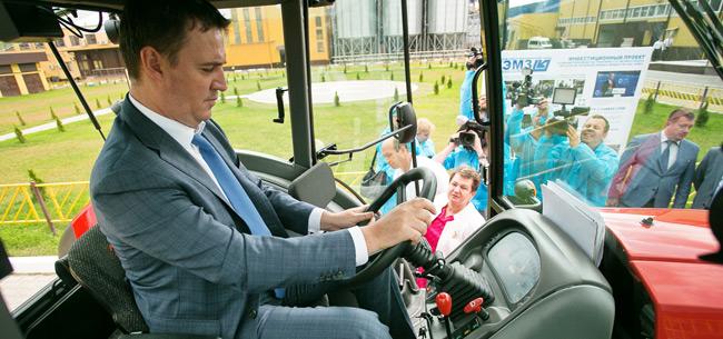Министр сельского хозяйства России посетил Владимирскую область
