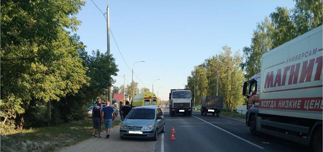 В Ковровском районе под колеса авто попал школьник